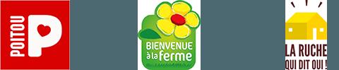 Labels Poitou - Bienvenue à la ferme - La ruche qui dit oui